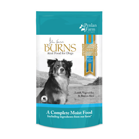 Burns Penlan Farm With Lamb, Brown Rice And Vegetables Dog Pouches 6x400g