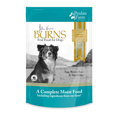 Burns Penlan Farm With Egg, Brown Rice And Vegetables Dog Pouches 6x400g