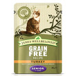 James Wellbeloved Grain Free Senior Cat Pouches With Turkey 12 X 85g