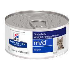 Hills Prescription Diet M/d Feline Original Wet Tins 24x156g