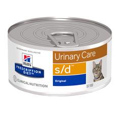 Hills Prescription Diet S/d Feline Urinary Care Original Wet Tins 24x156g