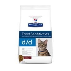 Hills Prescription Diet Feline D/d Food Sensitivities Venison And Green Pea Dry Food 1.5kg