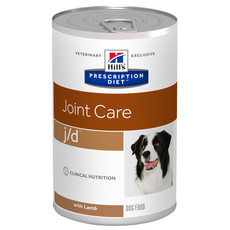 Hills Prescription Diet J/d Canine Joint Care Lamb Wet Tins 12x370g