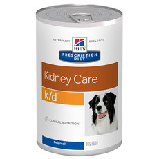 Hills Prescription Diet K/d Canine Kidney Care Original Wet Tins 12x370g