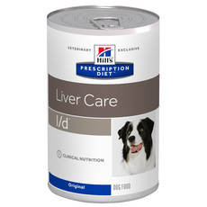 Hills Prescription Diet L/d Canine Liver Care Original Wet Tins 12x370g