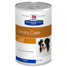 Hills Prescription Diet S/d Canine Urinary Care Original Wet Tins 12x370g