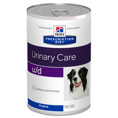 Hills Prescription Diet U/d Canine Urinary Care Original Wet Tins 12x370g