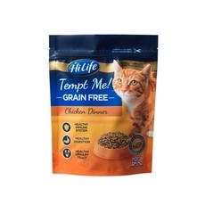 Hilife Tempt Me! Grain Free Chicken Dinner Semi Moist Cat Food 300g