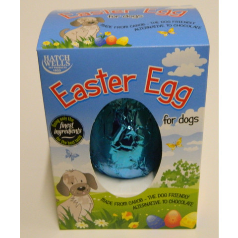 Hatchwells Carob Chocolate Cocoa And Gluten Free Easter Egg For Dogs