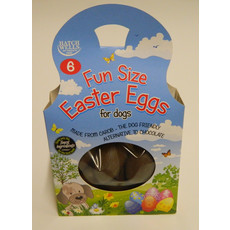 Hatchwells Carob Chocolate Cocoa And Gluten Free Fun Size Easter Eggs For Dogs 5 X 6 Pack