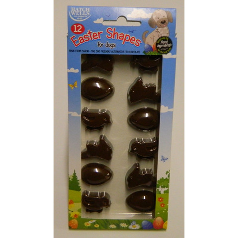 Hatchwells Carob Chocolate Cocoa And Gluten Free Easter Shapes For Dogs