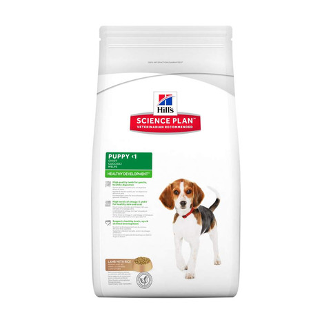 Hills Science Plan Puppy Food With Lamb And Rice 3kg