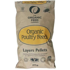 The Organic Feed Company Organic Layers Pellets Poultry Feed 20kg