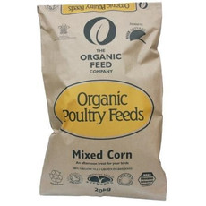 The Organic Feed Company Organic Mixed Corn Poultry Feed 20kg