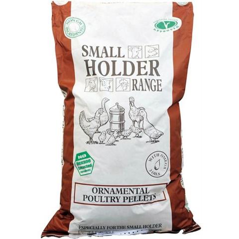 Allen & Page Small Holder Range Ornamental Poultry Pellets Poultry Feed 20kg