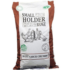 Allen & Page Small Holder Range Baby Chick Crumbs Poultry Feed 20kg