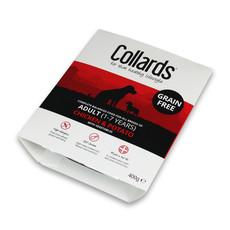 Collards Hypo-allergenic Grain Free Adult Dog Wet Tray With Chicken & Potato 10 X 400g