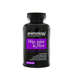 Animology Hip, Joint & Flex Natural Dog Supplement 60 Tablets