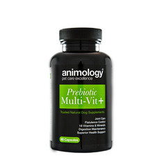 Animology Prebiotic Multi Vitamin + Natural Dog Supplement 60 Tablets