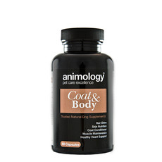 Animology Coat & Body Natural Dog Supplement 60 Tablets