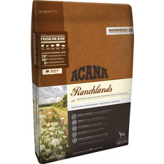 Acana Regionals Grain Free Ranchlands All Breeds & Life Stage Dog Food 11.4kg To 2 X 11.4kg