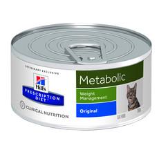 Hills Prescription Diet Metabolic Feline Original Wet Tins 24x156g
