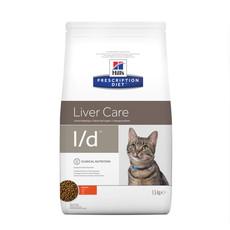 Hills Prescription Diet L/d Feline Liver Care Chicken Dry Food 1.5kg
