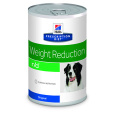 Hills Prescription Diet R/d Canine Weight Reduction Original Wet Tins 12x350g