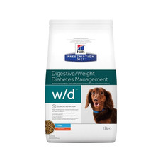 Hills Prescription Diet W/d Canine Mini Digestive Weight Diabetes Management Chicken Dry Food 1.5kg To 6kg
