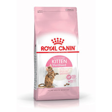Royal Canin Second Age Kitten Sterilised Food 400g To 4kg