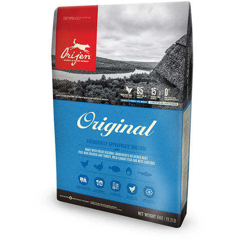 Orijen Original Grain Free All Breeds & Life Stage Dog Food 11.4kg