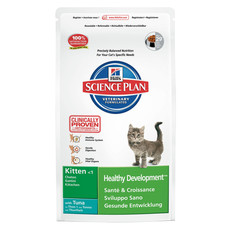 Hills Science Plan Kitten Healthy Development With Tuna Dry Food 2kg