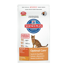 Hills Science Plan Adult Cat Optimal Care With Chicken Dry Food 2kg To 15kg