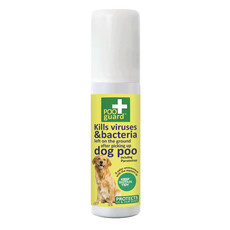 Poo Guard Anti-bacterial Foaming Spray For Post Dog Poo Pick Up 50ml
