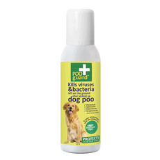 Poo Guard Anti-bacterial Foaming Spray For Post Dog Poo Pick Up 300ml