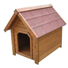 Wooden Apex Roof Flatpack Dog Kennel Lb-311 Medium