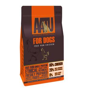 Aatu 80/20 Free Run Chicken Grain Free Adult Dog Food 10kg