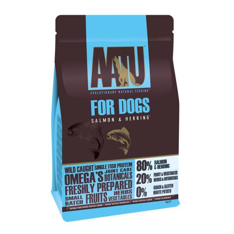 Aatu 80/20 Salmon & Herring Grain Free Adult Dog Food 5kg