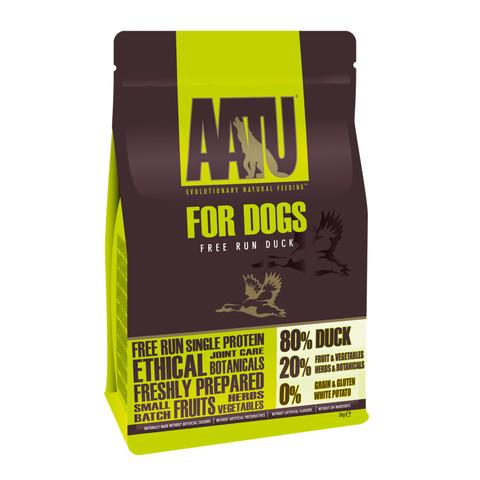 Aatu 80/20 Free Run Duck Grain Free Adult Dog Food 5kg