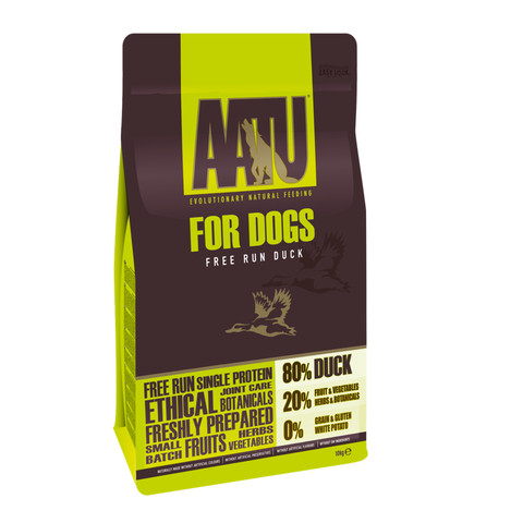 Aatu 80/20 Free Run Duck Grain Free Adult Dog Food 10kg