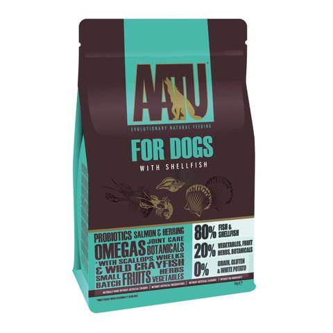 Aatu 80/20 Shellfish Grain Free Adult Dog Food 5kg