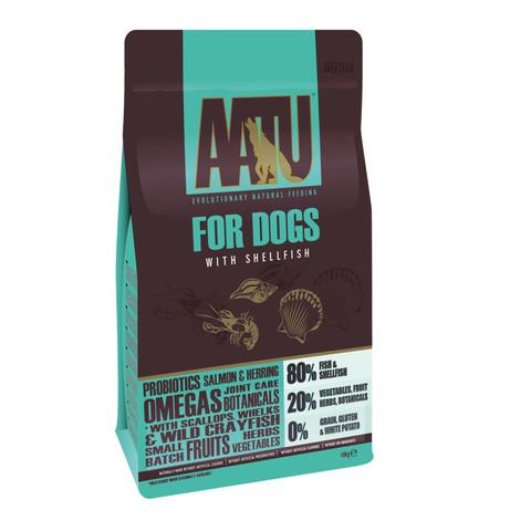 Aatu 80/20 Shellfish Grain Free Adult Dog Food 10kg
