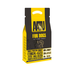 Aatu 80/20 Free Run Turkey Grain Free Adult Dog Food 1.5kg