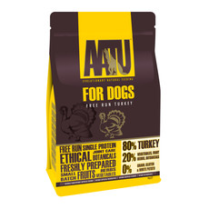 Aatu 80/20 Free Run Turkey Grain Free Adult Dog Food 5kg