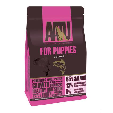 Aatu 85/15 Salmon Grain Free Puppy Food 5kg