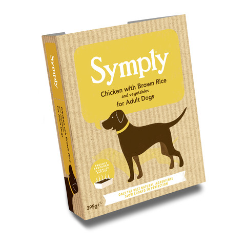 Symply Chicken & Brown Rice Adult Wet Dog Food