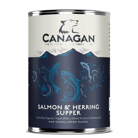 Canagan Salmon & Herring Supper Grain Free Adult Wet Dog Food