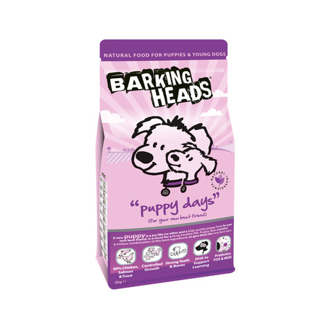 Barking Heads Puppy Days Puppy Food 2kg
