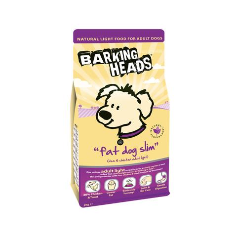 Barking Heads Fat Dog Slim Adult Light Dog Food 2kg
