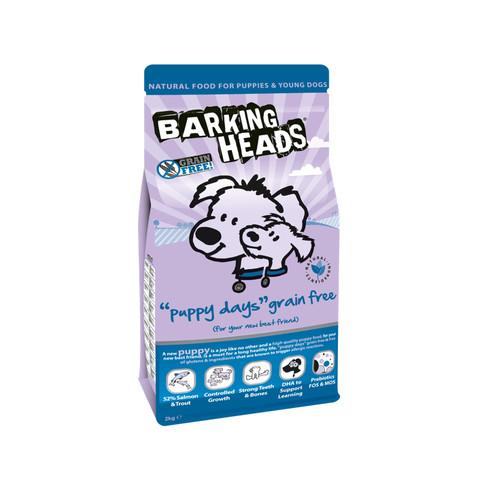 Barking Heads Puppy Days Grain Free Puppy Food 2kg